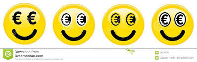 Download Euro Smiley Emoticon Yellow 3d Emoji With Black And White Symbols In Place