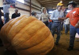 Pumpkin Patch Near Lincoln Al by Jumbo Pumpkins Crush World Records At Topsfield Fair Weigh Off