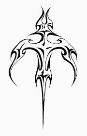 Tribal Sword Tattoo Design Idea
