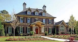 Plan W GE Stately Traditional Home Plan
