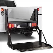 100 Truck Lift Gates G2 Dual Drive 1300lb Treadplate Platfoms Gates For Service
