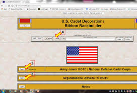Army Ribbon Rack Builder Free ›› Page 1