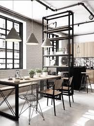 industrial style الستايل التصميم الداخلي interior
