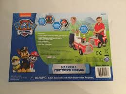 100 Fire Truck Song PAW PATROL MARSHALL FIRE TRUCK RIDE ON In Middlesbrough North