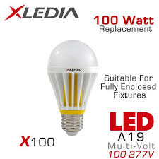 led light bulbs suitable for enclosed fixtures fully enclosed