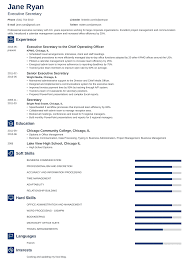 Secretary Resume: Sample & Complete Guide [+20 Examples] Resume Writing Guide How To Write A Jobscan New Home Sales Consultant Mplates 2019 Free Resume For Skills Teacher Tnsferable Skills Job High School Students With Examples It Professional Summary On Receptionist Description Tips For Good Of Section Chef Download Resumeio 20 Nursing Template
