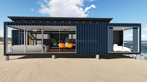 100 Modular Container House Deluxe Ocean View Prefabricated 40feet Shipping