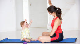 Tips Yoga Moves Are The Stressed Moms Best Friend