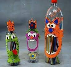 Recycled Crafts For Kids Plastic Bottles