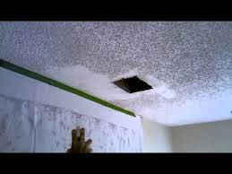 Homax Ceiling Texture Home Depot by Popcorn Ceiling Patch 6 Short Burst Of Homax Spray Popcorn Youtube