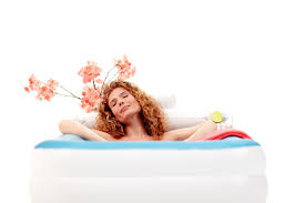 Portable Bathtub For Adults Australia by Flexible And Inflatable Bath Comfortable Tubble Com