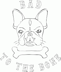 14 Pics Of French Bulldog Coloring Pages Printable