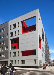100 Alexander Gorlin Wraps Supportive Housing In A Binary Skin