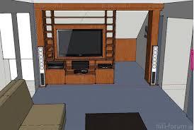 raumteiler wohnzimmer fernseher caseconrad