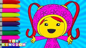 Team Umizoomi Milli Coloring Book Episode Nick Jr Kids Activity Show Toddlers Preschool