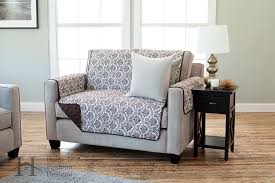 World Market Luxe Sofa Slipcover Charcoal by Amazon Com Luxe Collection Deluxe Reversible Quilted Furniture