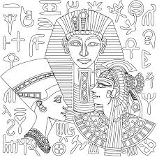 New Egyptian Coloring Pages From Stress Relief Adult App Try It Now