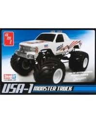 100 Monster Truck Decals AMT 132 Snap USA1 4x4 W Tracks Hobbies And