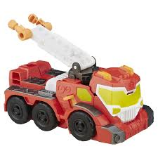 100 Rescue Bots Fire Truck Playskool Heroes Transformers Night Heatwave Figure