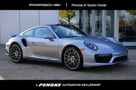 2018 New Porsche 911 Turbo S Coupe at Tysons Penske Automotive DC