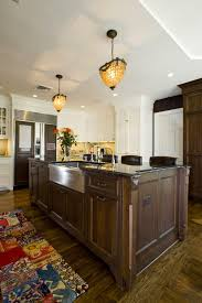 Farmhouse Style Sink by Farm Style Sink Kitchen Traditional With Breakfast Bar Dark Floor
