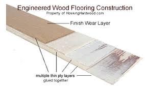 Engineered Hardwood Flooring Cross Section