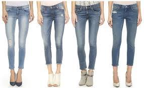 Cropped Skinny Jeans Short Women