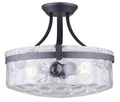 Menards Flush Ceiling Lights by Patriot Lighting Maeva 3 Light Semi Flush Mount Ceiling Light At