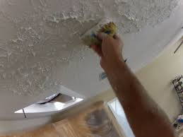 Homax Ceiling Texture Scraper by How To Use A Sponge To Match Knockdown Texture On A Ceiling Repair