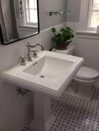 Kohler Memoirs Pedestal Sink Sizes by Kohler Memoirs Pedestal Sink And Toto Promenade Toilet Bathroom