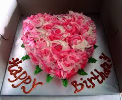 Happy Birthday Chocolate Cake With Roses