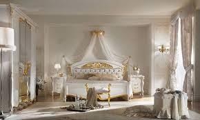 schlafzimmer la fenice weiß gold