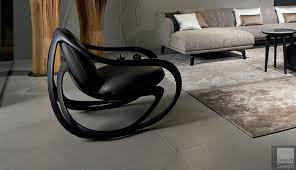 Giorgetti Move Rocking Armchair By Rossella Pugiatti - Everything But  Ordinary