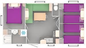 les 3 chambres location mobil home trigano 3 chambres 6 places avec terrasse au