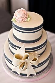 Blue And Pale Pik Wedding Cakes