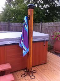 Image Result For Poolside Pallet Towel Rack