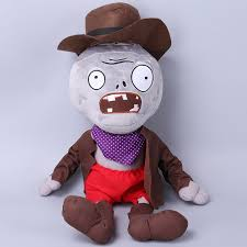 Amazoncom TavasHome Plants Vs Zombies 2 Figures Plush Toy Cowboy