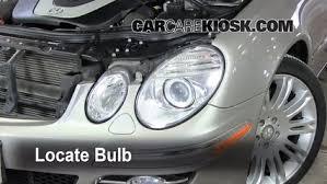 headlight change 2003 2009 mercedes e350 2008 mercedes