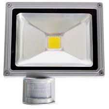 projecteur led 12v 20w détecteur de mouvement projecteur de