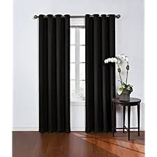 Eclipse Blackout Curtains 95 Inch by Amazon Com Eclipse Blackout Energy Efficient Curtain Panel 42