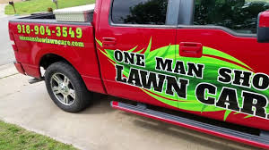Lawn Care Truck Lettering - YouTube Coastal Roofing Truck Lettering Sign Design Llc Signarama Of Leesburg Virginia Vehicle Wraps Avaira Signs Box Express Graphics Inc Genuine Gallery Affordable Zoricks Archives Synergy Signworks Lawn Care Truck Lettering Youtube Landscaping Long Island Vinyl Valle