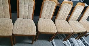 6 holzstühle massivholz stuhl esszimmer küche garten stühle