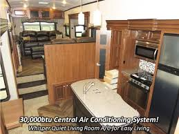Fifth Wheel Campers With Front Living Rooms by 2017 Jayco North Point 387rdfs Fifth Wheel Coldwater Mi Haylett