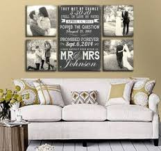 10 Romantic Wedding Photo Display Ideas