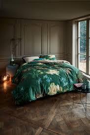 beddinghouse x gogh museum peonies green