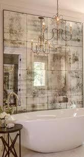 mirrored walls in bathroom minimalist home design
