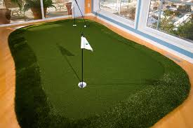 I finally moved the GreenMaker into my office SYNLawn Golf