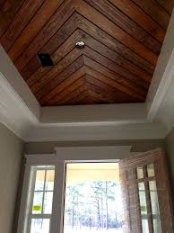 100 Wooden Ceiling FoyerPenny Width Pine PanelingTongue Groove