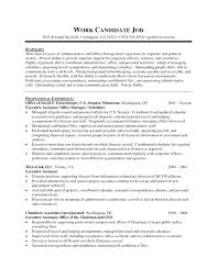 Administrative Assistant Objective Resume For Office Sample Medical Health Administration Examples