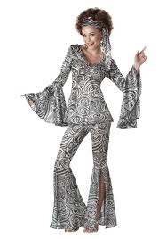 Womens Foxy Lady Disco Costume